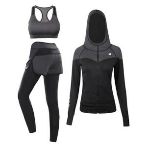 Women's Sexy Sport Tracksuit Tight Quickly Dry Compression Fitness Sport Wear