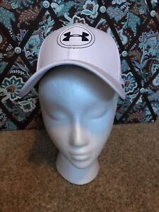 Under Armour Golf White Hat  Cap (adult LXL) 100% polyester