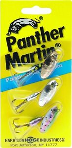 Panther Martin WT3 Western Trout Kit Assorted 3 Pack Fishing Lure