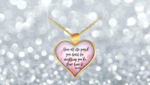 Bible Verse Necklace for Girls Kids Necklaces Teens Teen Girl Verses Love Women