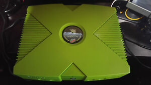 Microsoft Xbox Mountain Dew limited edition console Read