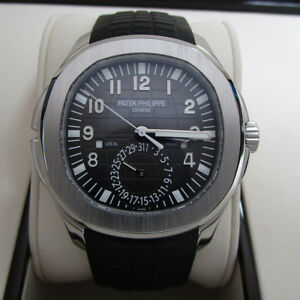 Patek Philippe Aquanaut Travel Time 5164A-001 New Complete Box and Papers