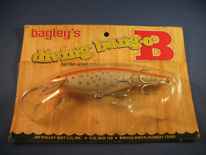 BAGLEY   DIVING   BANG-O-B 6  ( DB06 )  FISHING LURE     RT    (1)