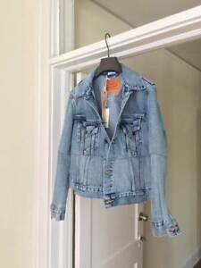 BRAND NEW Levi's X Vetements Blue denim jacket reworked trucker size S-M