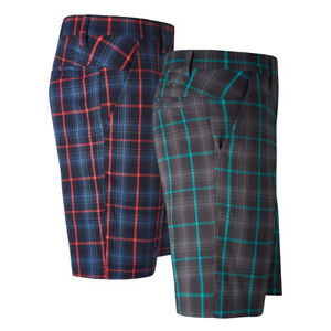 Callaway Golf Plaid Printed Shorts