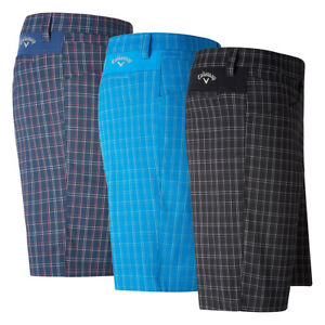 Callaway Golf Micro Plaid Shorts