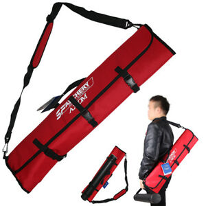 Archery Recurve Takedown Bow Bag Case Holder Backpack Hunting Target With Quiver