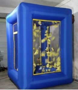 9ft Inflatable Cash Cube Money Machine Advertising Promotion with Blowers  O