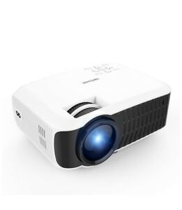 DBPOWER T22 2400 Lumens Portable LCD Mini Projector BRAND NEW & SEALED