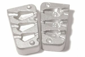 Aluminum lead Mould for 3 Drop Shot  - 8 - 10 - 14 gr Weights  Fishing