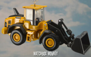 Custom Volvo L60H Front Loader 187 Scale Christmas Ornament Deere CAT Deere