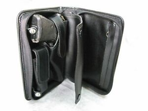 Black PVC Case For Walther PP PPK S Star SA 7.65 mm .32 ACP with Magazine Stor