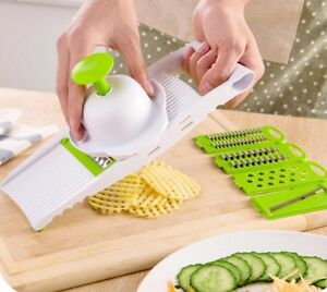 Vegetable Slicer Multi Mandoline Grater Kitchen Dicer Salad Maker Accessories