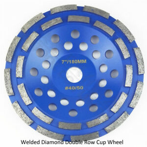 DIATOOL 1piece 7 inch diamond grinding cup discs for Construction material 180mm