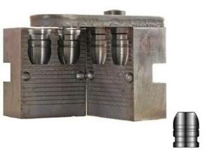 Lyman 2-Cavity Bullet Mold For 44-40 WCF 200 Grain Flat Nose Bevel Base Bullets