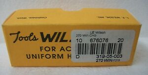 L.E. WILSON Tools Gages Cartridge Case Gage 270 Winchester