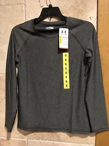 Under Armour Womens Gray Dryfit long sleeve Shirt size small
