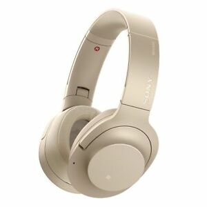 Sony WH-H900N Pale Gold h.ear on 2 Wireless NC Headphones WHH900N