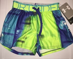 Girls size 6 6x XS Under Armour Athletic Running Shorts Nwt