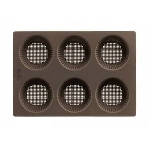 LEKUE MOLD BREAD PERFORATED x ROSETTES Silicone 6 Hollows 1841865