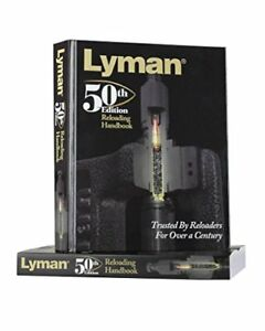 Lyman 50th Edition Reloading Manual Hardcover Features The Latest Load Data New