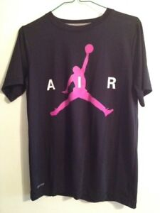 Youth Boys Size Large therma Fit Dry Fit Nike Air Jordan Jumpman T-Shirt