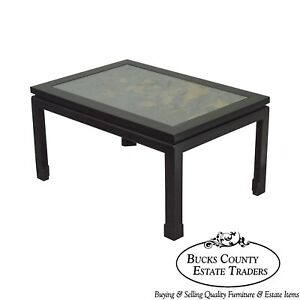 Chinoiserie Painted Black amp; Gold Asian Style Coffee Table