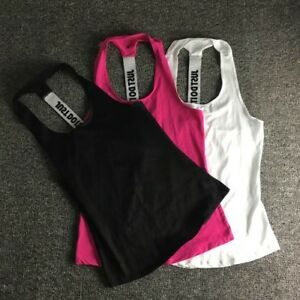 Women Fitness Sleeveless Tank Top Quick Dry Shirts Fashion Yoga Sports Racerback