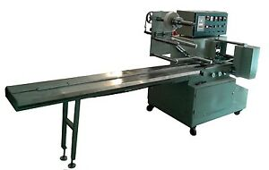 Biscuit Tray Flow Wrapping machine