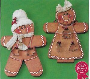 **MR. SPICE AND MS. SUGAR GINGERBREAD WOOD PATTERNS**WOOD PATTERN ONLY**