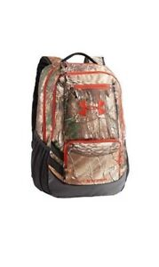 Under Armour Realtree Storm 1 Backpack Hustle Water Resistant Laptop Pocket Nwt
