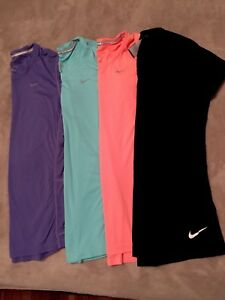 Nike Bundle Of 4 Dry Fits Womans Shirts