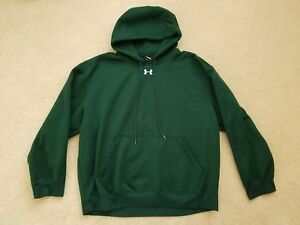 Under Armour Mens Size Extra Large XL Green Hoodie