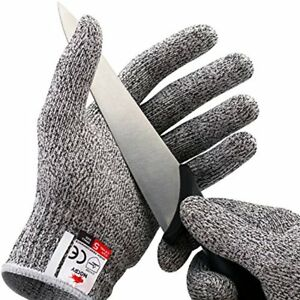 Cut Resistant Gloves High Protection Safety Kitchen Home Food Slicer Small New