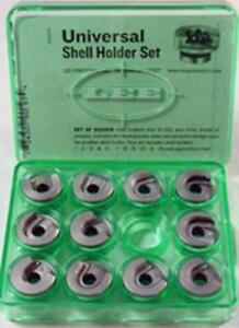 Lee Precision 90197 Universal Press Shell Holder Set (Clear)