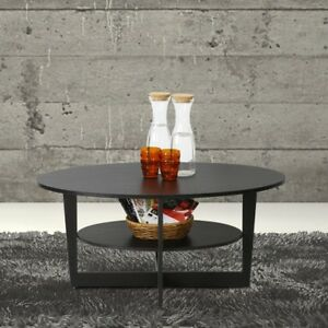 JAYA Walnut Built-In Storage Coffee Table Accent Table Home Furniture Living
