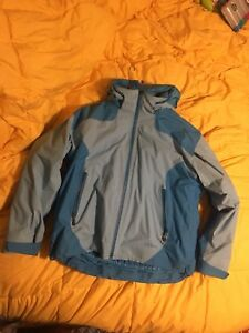 L.l. Bean Womens Large Weather Challenger 3 in 1 Jacket $105.00