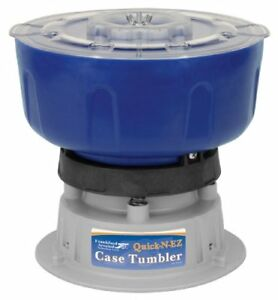 Quick-n-Ez Case Tumbler Economical Clean Your Brass Cord Mounted OnOff
