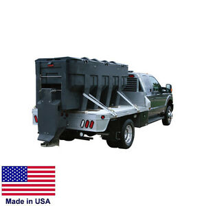 SPREADER Commercial - Salt & Sand  Truck Bed Mounted - Auger Feed - 3 CY Cap