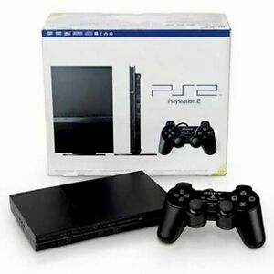 Sony PlayStation 2 PS2 Slim SCPH-90001 Console Controller VERY GOOD CLEAN TESTED