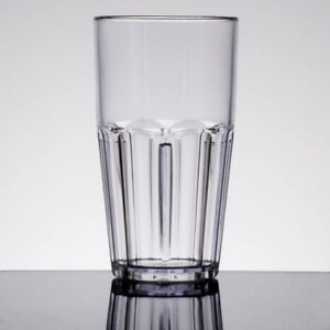 22 oz. Clear Break-Resistant Plastic Tumbler - 72Case NEW