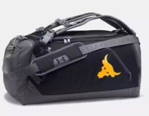 Under Armour UA x Project The Rock Contain Duo + Duffle Bag Black Backpack