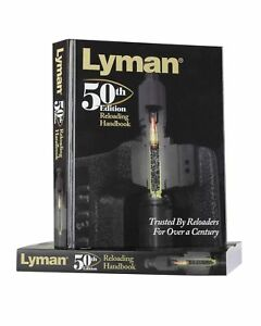 Lyman 50th Edition Reloading Manual Hardcover New