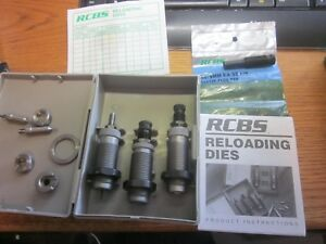 RCBS 38357 Carbide DIE SET 18212 w 3 Shell Holders & accessories