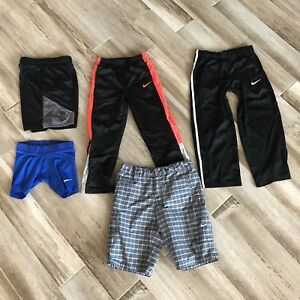 HUGE LOT UNDER ARMOUR Nike Golf Dri Fit Athletic Shorts Pants Youth Small Med