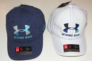 *Under Armour UA Free Fit Beth Page Black Golf Hat Cap Various Colors Youth