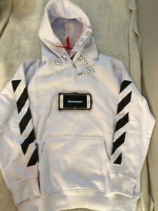 Off White co Virgil Abloh hoodie White Size US Medium