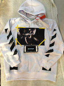 Off White co Virgil Abloh Angel Wing hoodie White Size US Large