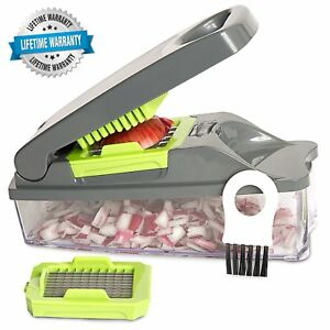 Onion Chopper Pro Multi Vegetable Chopper by Mueller Strongest Kitchen Cutter