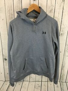 Men's Under Armour Hoodie Heather Gray Size XL G2